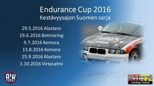 Endurance Cup 2016 Mainos